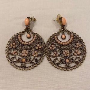 Hanging Stud Earrings